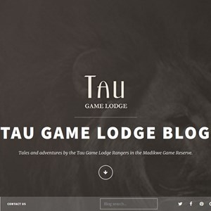 Rangers' Blog - Tau Game Lodge